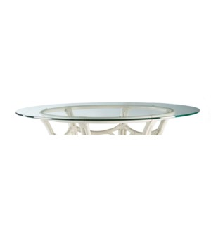 "Round Glass Table Top - 48"" diameter"