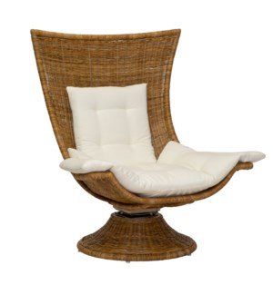 Healdsburg Swivel Chair in Natural