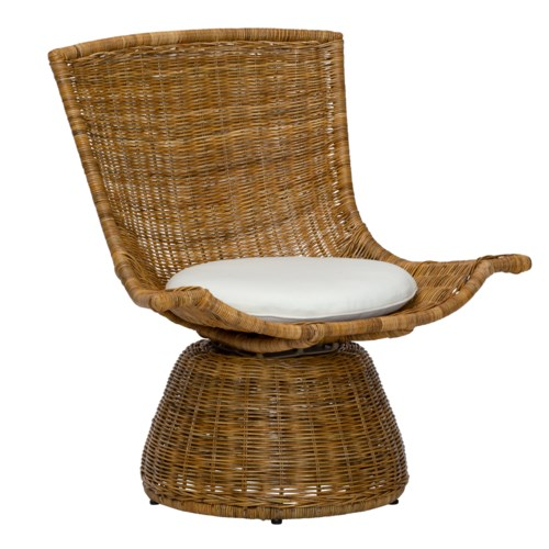 Healdsburg Small Swivel Chair