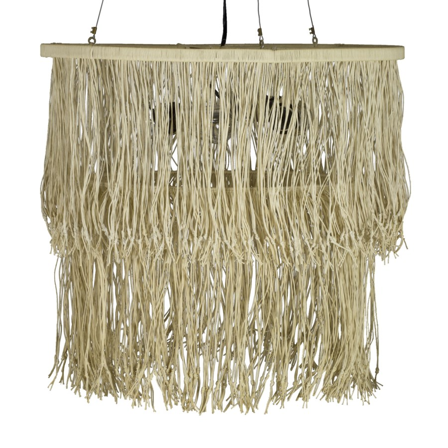 Hitch Medium Chandelier in Natural