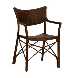 Henny Arm Chair in Cinnamon