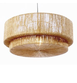Cocktail 2 Tier Pendant in Natural