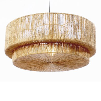 Cocktail 2-Tier Pendant in Natural