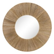 High Ball Mirror in Natural