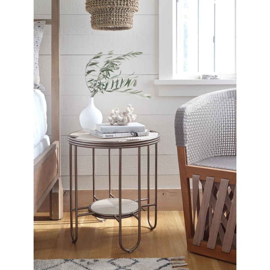 Hudson Side Table in Natural