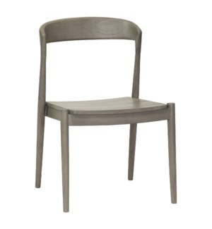 Ingrid Side Chair in Grey