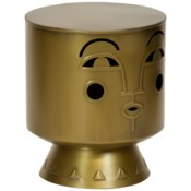 Arthur Stool in Brass