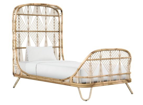 Ara Twin Bed in Natural