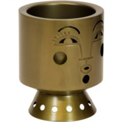 Bette Planter in Brass