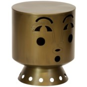 Bette Stool in Brass