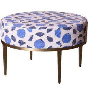 Faraja Coffee Table in Fez Blue