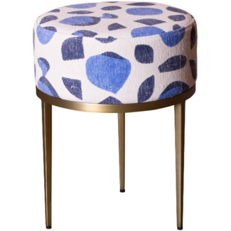Faraja Side Table in Fez Blue