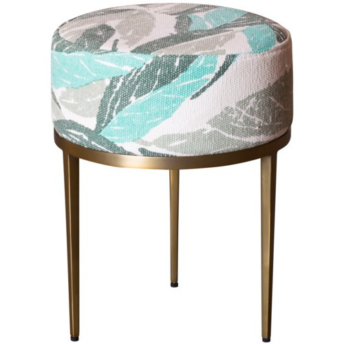 Faraja Side Table in Nana Green