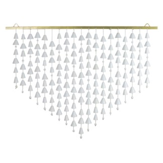 Kerani Wall Hanging Large - White