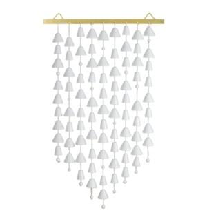 Kerani Small Wall Hanging in White