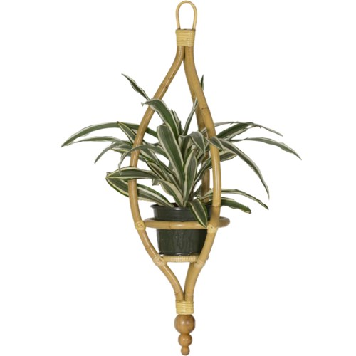 Miya Hanging Planter in Natural