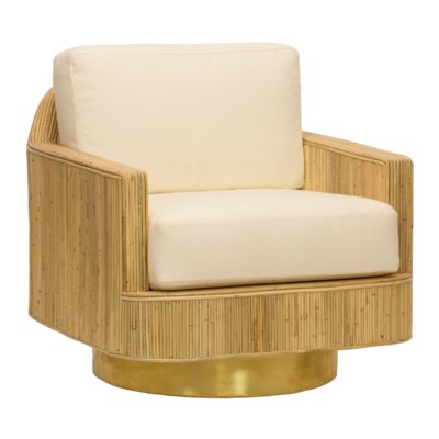 Moses Lounge Chair in Natural