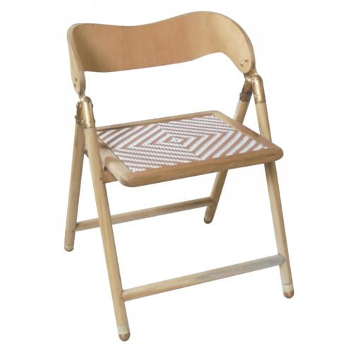 Uttan Folding Chair in Natural