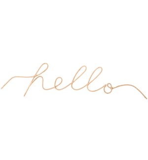 """Hello"" Word Art"