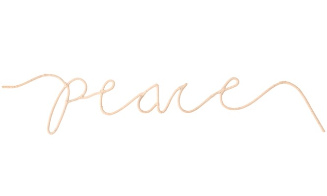 """Peace"" Word Art"