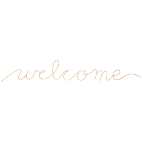 """Welcome"" Word Art"