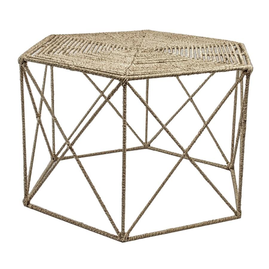 Jute Hexagonal Coffee Table