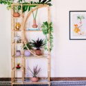 Ines Etagere in Natural
