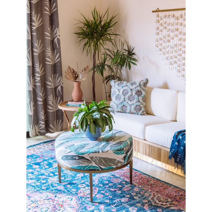 Faraja Coffee Table in Nana Green