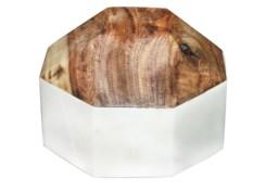 Kerry Diamond Ball Large - White