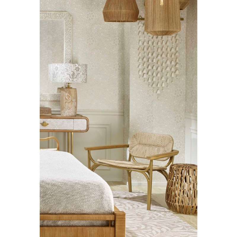 Kelmscott Lounge Chair in Natural