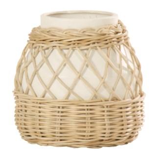 Kaivah Small Vase - White