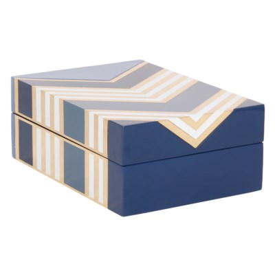 Morgan Box in Blue
