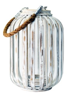Moana Lantern in White Wash