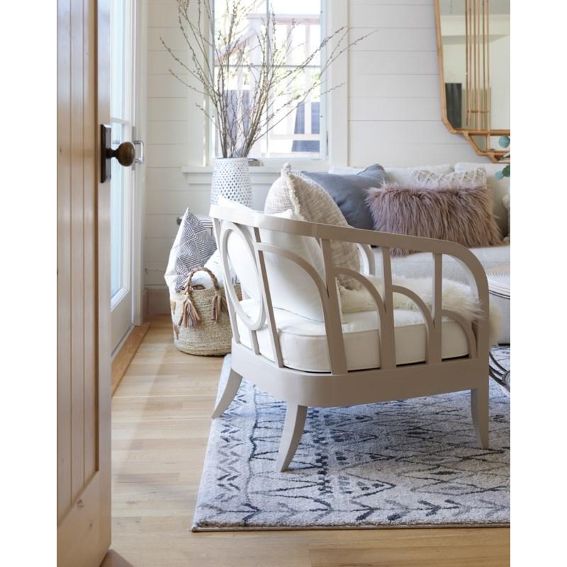 Morgan Lounge Chair in Grey