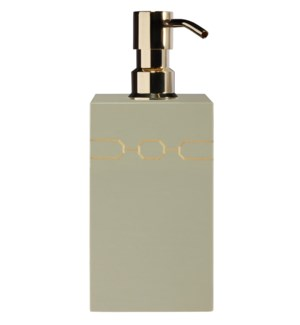 Norma Soap/Lotion Dispenser in Taupe