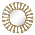 Ojai Round Mirror in Natural