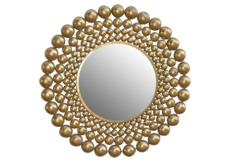 Orbit Mirror in Gold
