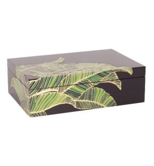 Palm Box in Black
