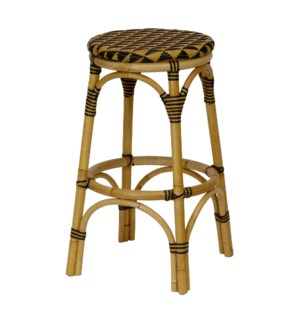 Pinnacles Bar Stool in Natural/Black
