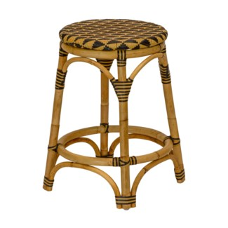 Pinnacles Counter Stool in Natural/Black