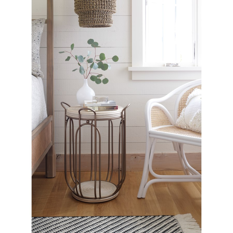 Plaza Side Table in Natural