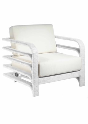 Reo Lounge Chair Outdoor in White