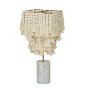 Redondo Table Lamp in White
