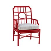 Regeant 4-Season Arm Chair in Antique Red - LIQ