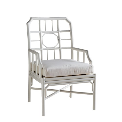 Regeant 4-Season Arm Chair in White