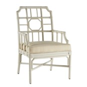 Regeant Arm Chair-White