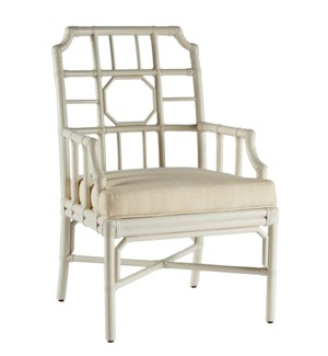 Regeant Arm Chair in White