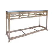 Regeant Console Table in Nutmeg - LIQ