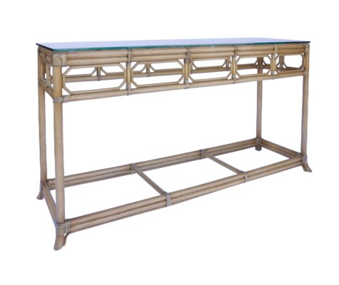 Regeant Console Table in Nutmeg