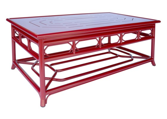 Regeant 4-Season Coffee Table in Antique Red